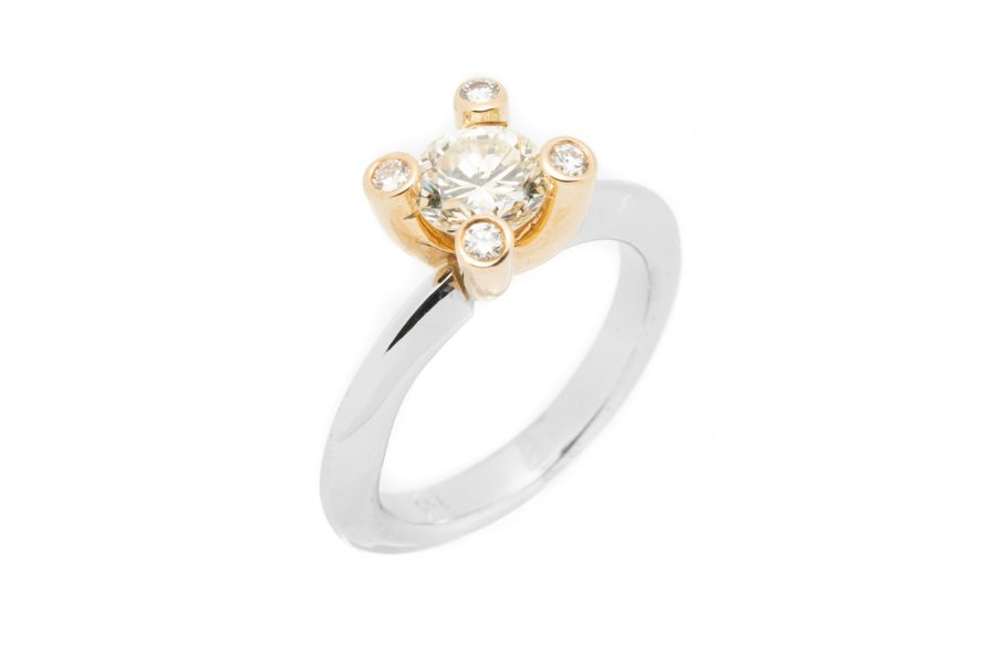 Diamant Ring Damen